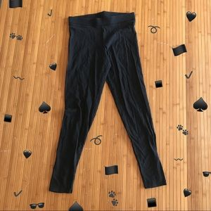 Black VS Pink Cotton Leggings/Tights